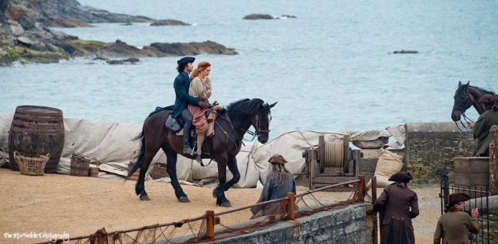 Poldark at Charlestown Harbour