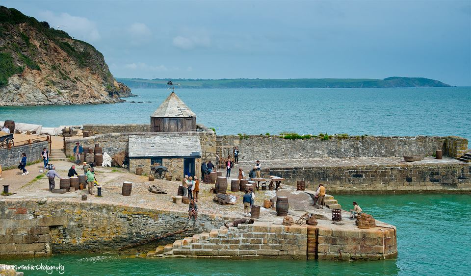 "Charlestown Harbour as it's seen in ""Poldark"""